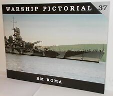 Classic Warships Publishing - Warship Pictorial 37 - RM Roma      New     Book