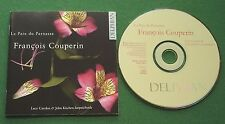 Couperin La Paix du Parnasse Lucy Carolan & John Kitchen Harpsichords CD