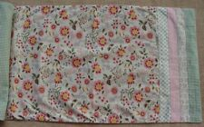Park Designs COTTAGE CHARM Flowers Table Runner - 13x54 - Rose, Pink, Green