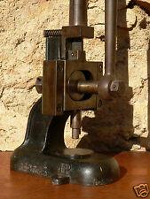 outil ancien bijoutier joaillier baguier agrandisseur fonte déco boutique/usage