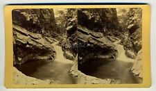 J COLLIER Queen Canyon Devil's PUNCH BOWL Colorado Springs stereoview DENVER 192