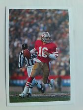 Joe Montana Card - A Question of Sport 1987 - Excellent Condition