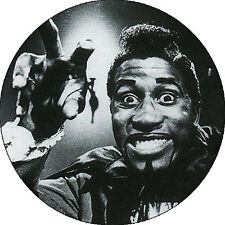 CHAPA/BADGE SCREAMIN' JAY HAWKINS . pin button chuck berry bo diddley rock&roll