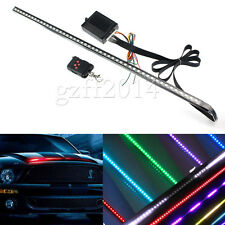 24'' 7 Color 48 LED RGB Flash Car Strobe Knight Rider Kit Strip atmosphere light