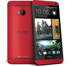 4.7'' NEW HTC One M7 Unlocked Quad-core Smartphone - 32GB 4MP GPS WIFI - ROJO