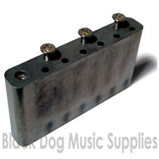 Guitar tremolo block solid steel including screws 52.5 string spacing