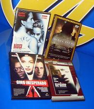 Cuatro peliculas suspense 4 DVDS muy buen estado
