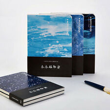 A5 Notebook Blank Diary Drawing Journal Note Book Sketch Doodle Bare Spine #UK