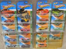 HOT WHEELS ~2012~REGULAR-TREASURE HUNT SET-COMPLETE~ALL 15 CARS~VHTF~RARE~T~