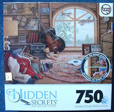 jigsaw puzzle 750 pc Hidden Secrets Before music room Janet Kruskamp Sure-Lox