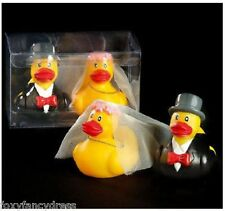 MR & MRS DUCK BRIDE and GROOM GIFT SET DUCKS HEN PARTY WEDDING gift