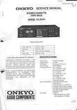 Onkyo Service Manual für  TA- 2044