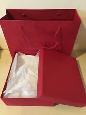 "VALENTINO Empty Box : 12""x10""x4.5"" With Shopping Bag"