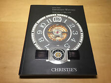 Magazine CHRISTIE'S Hong Kong - Important Watches - Wednesday 31 May 2006