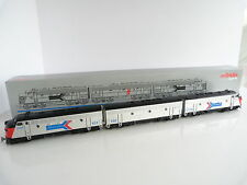 MARKLIN DIGITAL LOCOMOTIVE DIESEL-ELECTRIQUE EMD F7 AMTRAK REF 37621