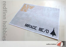 4FX Dioramics Aircraft Display Base for the Mirage IIIE/O (Version 02)
