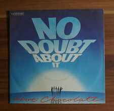 "Single 7"" Vinyl No doubt about it - Gimme some of your lovin Hot Chocolate"