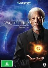 Through The Wormhole With Morgan Freeman : Season 2 (DVD, 2012, 3-Disc Set)
