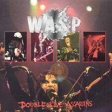 NEW Double Live Assasins by W.A.S.P. CD (CD) Free P&H