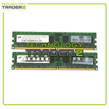 497765-b21 HP 4GB (2 X 2GB) PC2-6400 REG Memory Kit 499276-061 501157-001