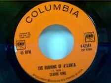 "CLAUDE KING ""THE BURNING OF ATLANTA / DON'T THAT MOON LOOK LONESOME"" 45"