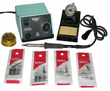 Weller WES51 Analog Soldering Station with Chisel Tip Bundle + BONUS TIP CLEANER