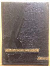 1946 HENDERSONVILLE HIGH SCHOOL YEARBOOK, THE GOLDEN MEMORIES, HENDERSONVILLE TN