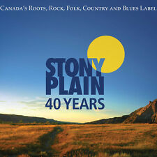 40 Years Of Stony Plain Records - Various Artist (2016, CD NIEUW)3 DISC SET