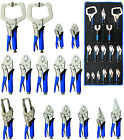 BGS Germany 16-pc Vice Grip Locking Clamp Pliers Set Welding Welder Tig Mig Arc