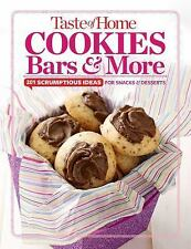 TASTE OF HOME COOKIES, BARS & MORE COOKBOOK, NEW & SEALED