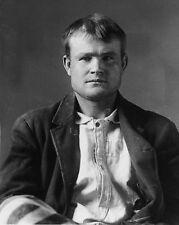 Mugshot of Butch Cassidy - Wyoming Territorial Prison Laramie, Wyoming 1896