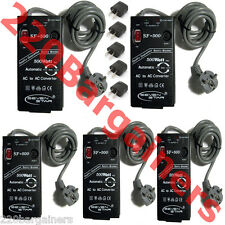 SF500 110-220 Volt 500 Watt Automatic AC Voltage Converter - 5 PACK!