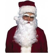 Santa Beard and Wig Adult Mens Christmas Costume Fancy Dress