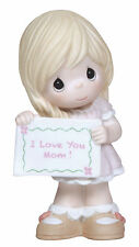 Precious Moments I Love You Mom-Girl NEW   NIB