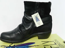 Fly London Mel Chaussures Femme 40 Bottes Bottines Montantes Ankle Boots UK7 New