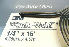 "1/4"" Round 3M Auto Glass Butyl Tape Window-Weld Sealer Windshield Rear Window"
