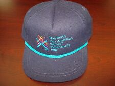 PAN AM GAMES 1987 VINT HAT CAP ADJUSTABLE  STRAPBACK