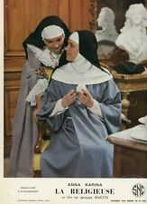 ANNA KARINA LA RELIGIEUSE JACQUES RIVETTE 1967 VINTAGE LOBBY CARD #3