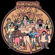 80's Cartoon Classic Hulk Hogan's Rock N' Wrestling custom tee AnySize AnyColor