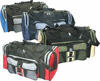 LARGE 50L FOOLSGOLD SPORTS HOLDALL DUFFLE BAG CAMPING FESTIVAL GYM TRAVEL SCHOOL