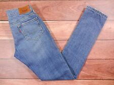 Womens Levi's 521 Jeans Size 2 Ultra Low Rise Skinny Leg Stretch Slim Fit