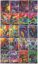 Marvel X-Men Chromium Alternate X Insert Card Set 1995 Fleer Ultra #1-20