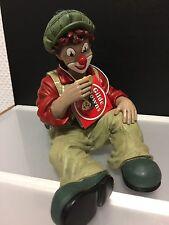 """Gilde Clown """" sitzend """" 13 cm Hoch. Top Zustand !!"""