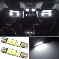 WHITE 3 LED VANITY VISOR MIRROR LIGHTS 6614 FUSE #Y1