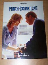 PUNCH-DRUNK LOVE - Presseheft ´03 - ADAM SANDLER