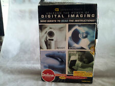 "New ""Unleash the Power of Digital Imaging"" Assorted User Guides/Manuals Software"