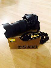 Nikon D5100 Spiegelreflexkamera + Objektiv 18-105mm