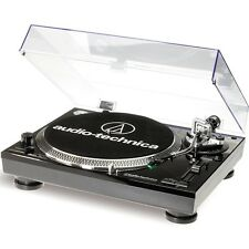 Audio Technica AT-LP 120 USB tocadiscos negro
