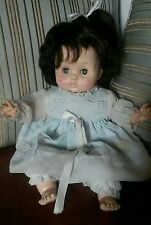 "RARE vintage 1960's EFFANBEE 15"" BUTTERCUP BABY DOLL #9379 - lovely brown hair"