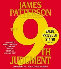 James Patterson THE 9th JUDGMENT CD *NEW* FAST 1st Class Ship!